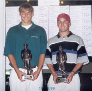 Bill Haas and Brent Delahoussaye - Tradition Four Ball Champions